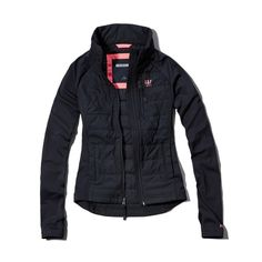 Abercrombie & Fitch - Femme - Jacket - Active Lightly Filled - Navy 1,449 dhs