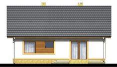 DOM.PL™ - Projekt domu ARN Irys CE - DOM RS1-64 - gotowy koszt budowy