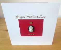 Happy Mother's Day Card  Mothers day card   by FyneHandmadeCards