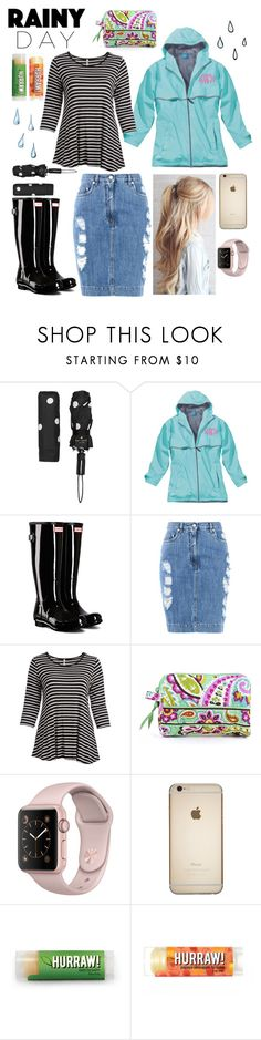 """""""Untitled #162"""" by sarahgriffis ❤ liked on Polyvore featuring Kate Spade, Hunter, Moschino, Cool Melon, Vera Bradley and plus size clothing"""