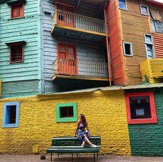 Achada no rolo da câmera 📸✨ #bateusdds #buenosaires #elcaminito Outdoor Play Areas, Outdoor Walls, Eurotrip, Travel Around, South America, Places To Visit, Adventure, Pictures, Photos