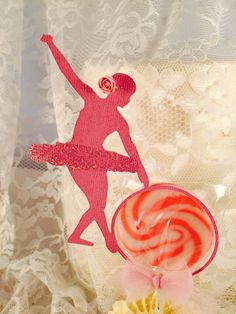 Ballerina Party - Ballerina Lollipop Cupcake Topper - Pink Ballerina Party - Ballet Event - Sweets For Party - Customized - Set of 12 - Posh