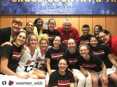 @wesmen_wbb in Victoria after a weekend sweep and an 18-2 regular season finish.