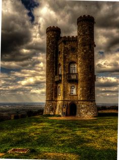 Broadway Tower is a folly located on Broadway Hill near the village of Broadway in Worcestershire. It was designed by James Wyatt in 1794 in the form of a castle for Lady Coventry.
