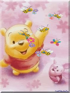 glitter graphics winnie the pooh and friends |