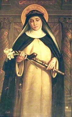 Saint Catherine of Siena - patron saint of Italy