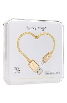 HAPPY+PLUGS+Lightning+Charge/Sync+Cable+available+at+#Nordstrom