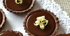 TARTALETAS DE CHOCOLATE THERMOMIX Chocolate Thermomix, Cupcakes, Cheesecakes, Deserts, Muffin, Dessert Recipes, Cooking Recipes, Pudding, Eat