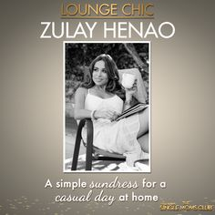 Take a style tip from Zulay Henao and be cute and comfy at home in a simple sundress! #SingleMomsClub #ad