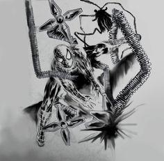 spiderman ilustration