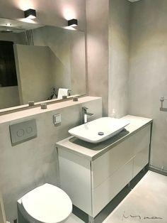 Bathroom Pandomo #microcement Bathroom Lighting, Sink, Mirror, Furniture, Home Decor, Bathroom Light Fittings, Sink Tops, Bathroom Vanity Lighting, Vessel Sink