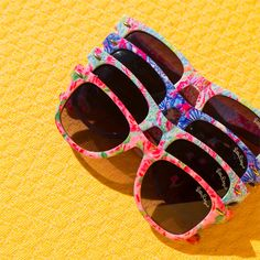 Remember to bring along a pair of funky sunglasses that you don't mind getting dirty!