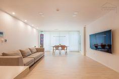 Compact House, Interior Decorating, Interior Design, Architecture Design, Minimalism, Condo, New Homes, House Design, Living Room