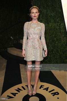 Actress Kate Bosworth arrives at the 2013 Vanity Fair Oscar Party hosted by…