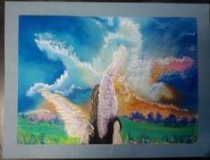 Created 10-28-17...Angel in soft pastel