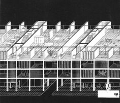 """""""Habitat and the City"""": Competition Entry by Neutelings, Wall, De Geyter and Roodbeen (1990) – SOCKS"""