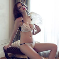 bra massage on sale at reasonable prices, buy Newest Underwear set thin female sexy push up ultra-thin transparent lace bra sexy lingerie bra and panty sets from mobile site on Aliexpress Now! Sexy Lingerie, White Lingerie, Sexy Bra, Wedding Night Lingerie, Honeymoon Lingerie, Massage, New Underwear, Lingerie Underwear, Bra And Panty Sets