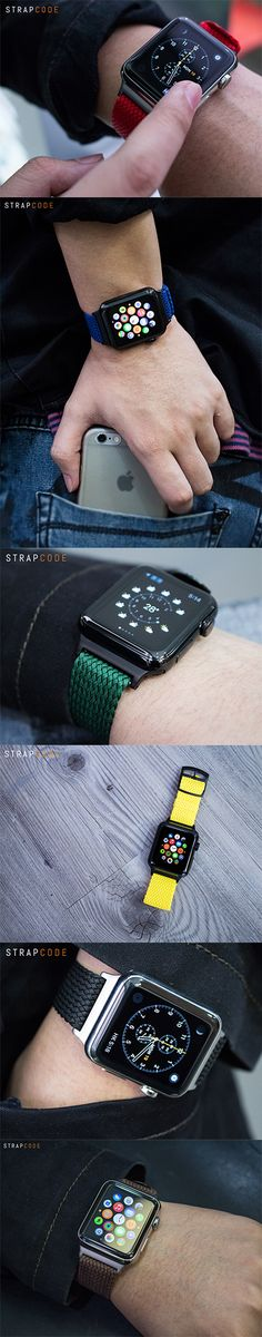 If you want to have a customized look on your Apple watch, Perlon straps are the right choice.