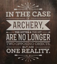 famous archery quotes - Google Search