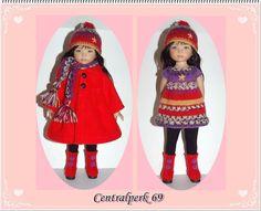 ♥ ♥ Vêtements compatible Dianna effner Little Darling Doll 13  + BOTTES ♥ ♥