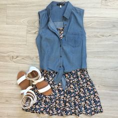 perfect casual summer outfit