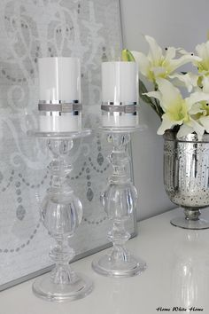 Lene bjerre candles <3 - Home White Home -blog