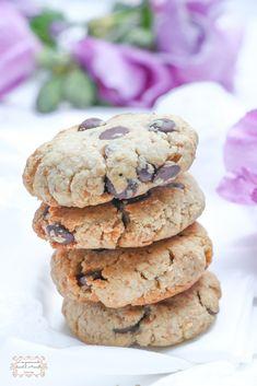 Cookies au beurre de cacahuète @ Les gourmands {disent} d'Armelle Biscuits, Armelle, Desserts, Vegan, Food, Peanut Butter, Kitchens, No Egg Cookies, Crack Crackers