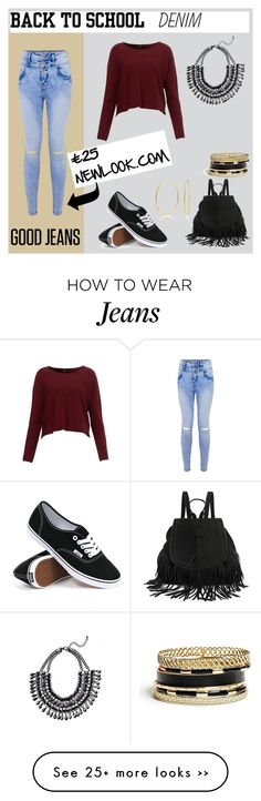 """Back To School : Good Jeans"" by mariabrown3005 on Polyvore"