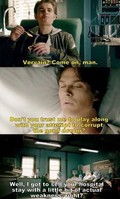 The Vampire Diaries TVD S08E08 - Damon and Stefan