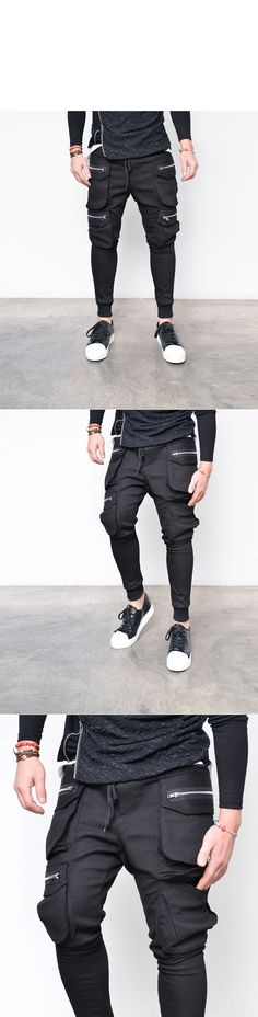 Big Zip Multi Cargo Baggy Jogger-Sweatpants 272 - GUYLOOK