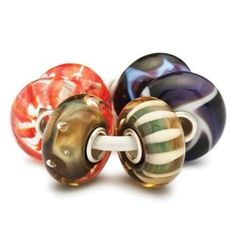 Trollbeads Organic Kit of Glass Charm Beads