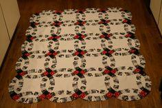 Irish Wedding Ring Quilt Pattern | Cotton Creek Sewing: Double Wedding Ring Quilt Pieced!