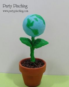 This is a great idea for Earth day.