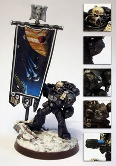 Standard+bearer+40k | LO Contest Hall of Honour - Warhammer 40K Fantasy