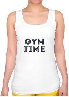 Tony ve Karen Hill - GYM Time Kendin Tasarla - Bayan Kare Yaka Atlet