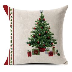Christmas Pillow Cover School Bar Home Sofa Decoration Gift gift offer
