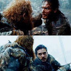 6x9   7x6 - Jon and Tormund