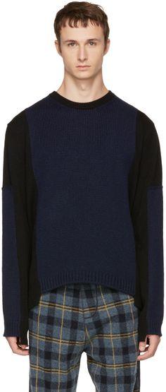 Stella McCartney - Black & Navy Contrast Sweater
