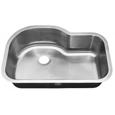 Stainless Steel 16 Gauge Single Bowl Undermount Kitchen Sink ...
