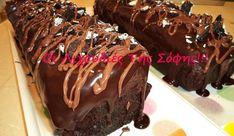 Greek Sweets, Greek Desserts, Party Desserts, Greek Recipes, Sweets Cake, Cupcake Cakes, Greek Cake, Crazy Cakes, Cake Bars