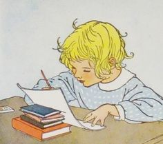 vintage children's illustration