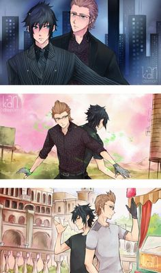 Final Fantasy XV ||2/4|| Noctis And Ignis / #ffxv