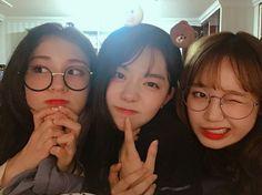 I.O.I : Yoojung, Somi et Sohye