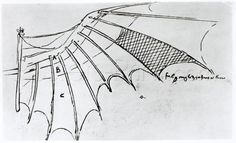 Detail Of A Mechanical Wing From Fol. 74r, Manuscript B 2173, 1488-89 Giclee Print Poster by Leonardo Da Vinci Online On Sale at Wall Art Store – Posters-Print.com