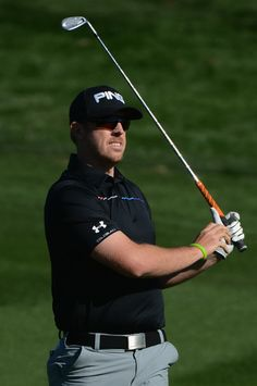 Hunter Mahan - Waste Management Phoenix Open - Final Round Under Armour Golf Apparel Designed by Michael L. Wherley