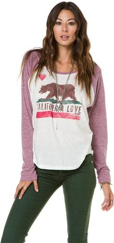 BILLABONG HOWDY BASEBALL TEE   http://www.swell.com/BILLABONG-HOWDY-BASEBALL-TEE-1?cs=RP