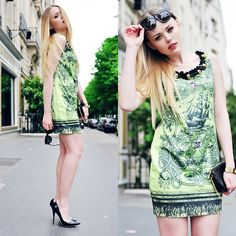 SECOND DAY IN PARIS (by Kristina Bazan) http://lookbook.nu/look/3515531-SECOND-DAY-IN-PARIS