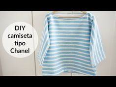 DIY camiseta tipo Chanel - YouTube