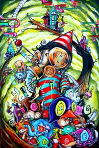 """Image of """"Voodoo"""" Special Edition 20x30in Print SOLD OUT"""