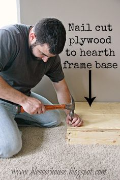 plywood hearth base
